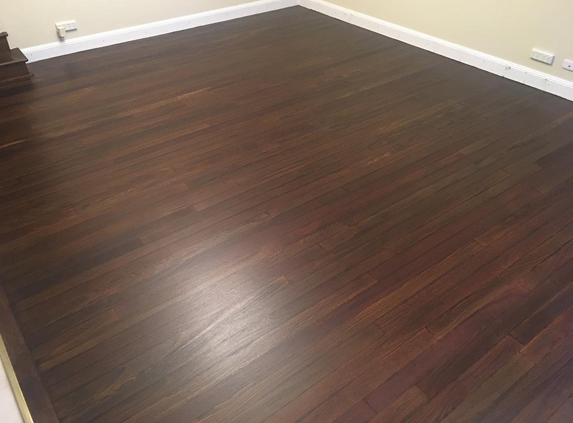 timber floor staining sydney